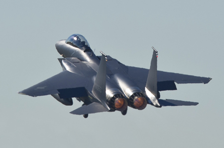 South Korea Receives Three Additional Boeing F-15K Slam Eagle's